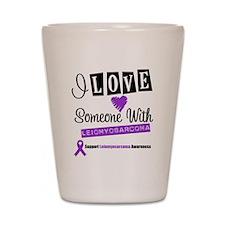 Leiomyosarcoma Support Shot Glass