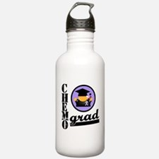 Chemo Grad Cancer Water Bottle