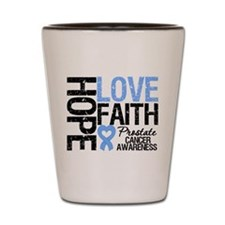 Prostate Cancer Faith Shot Glass