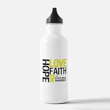Sarcoma Hope Faith Water Bottle