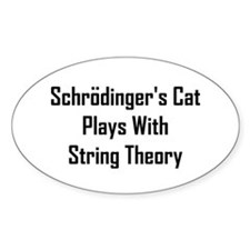 Schrodinger's Cat Plays Decal