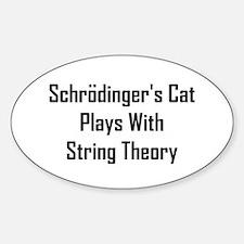 Schrodinger's Cat Plays Decal