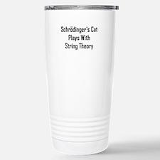 Schrodinger's Cat Plays Travel Mug
