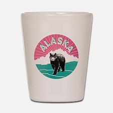Alaska Bear Shot Glass