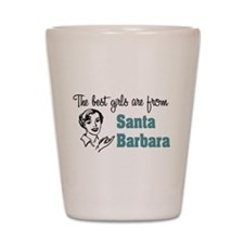 Best Girls Santa Barbara Shot Glass