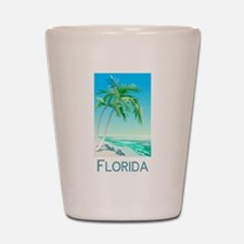 Florida Palms Shot Glass