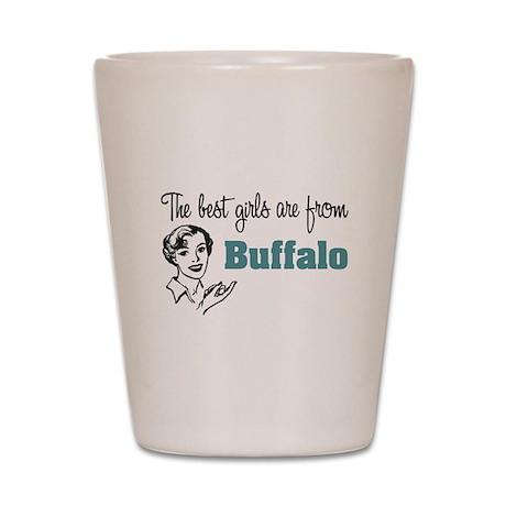 Best Girls Buffalo Shot Glass