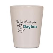 Best Girls Dayton Shot Glass