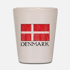 Denmark Flag Shot Glass
