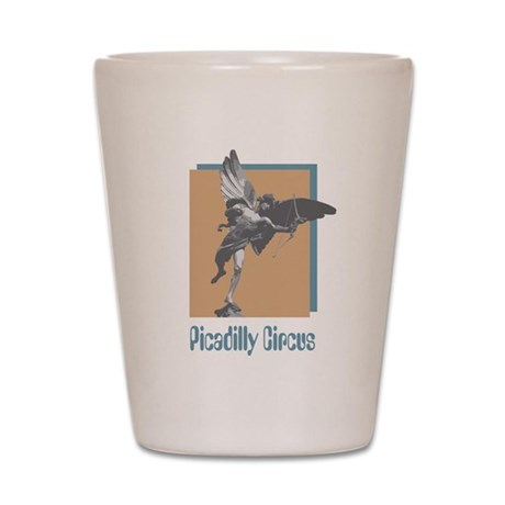 Picadilly Circus Shot Glass
