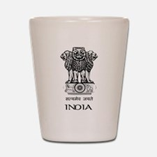 Emblem of India Shot Glass