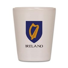 Ireland Coat of Arms Shot Glass