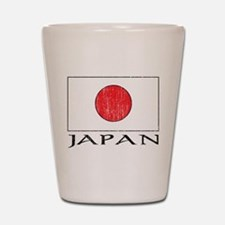 Japan Flag Shot Glass