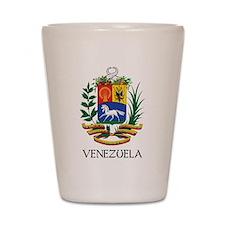 Venezuela Coat of Arms Shot Glass