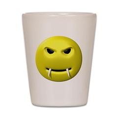Vampire Smiley Face Shot Glass
