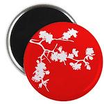 """Cherry Blossom 2.25"""" Magnet (10 pack)"""