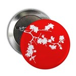 """Cherry Blossom 2.25"""" Button (10 pack)"""