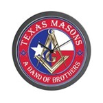 Texas Brothers Wall Clock