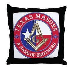 Texas Brothers Throw Pillow