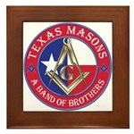Texas Brothers Framed Tile