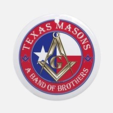 Texas Brothers Ornament (Round)
