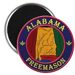 The Alabama Freemason Magnet