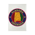The Alabama Freemason Rectangle Magnet