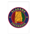 The Alabama Freemason Postcards (Package of 8)
