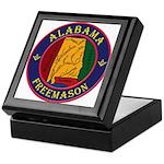 The Alabama Freemason Keepsake Box