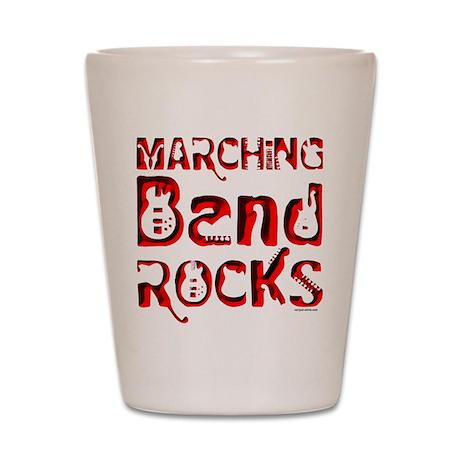 Marching Band Shot Glass