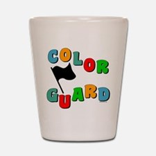 Colorful Guard Shot Glass