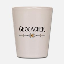 Geocacher Shot Glass