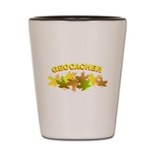 Autumn Geocacher Shot Glass