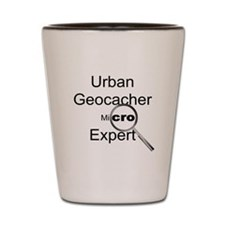 Urban Geocacher Shot Glass