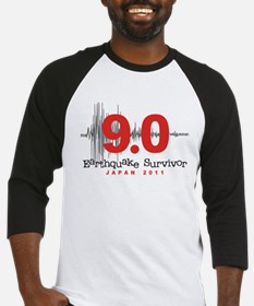 Japan Earthquake Survivor Baseball Jersey