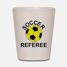 Soccer Referee Shot Glass