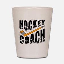 Hockey Coach Shot Glass