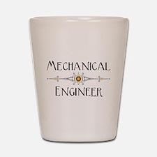 Mechanical Engineer Line Shot Glass
