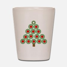Mechanical Christmas Tree Shot Glass
