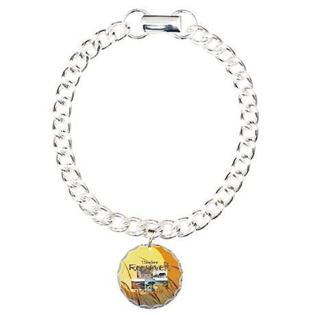 ABH Theodore Roosevelt N Charm Bracelet, One Charm