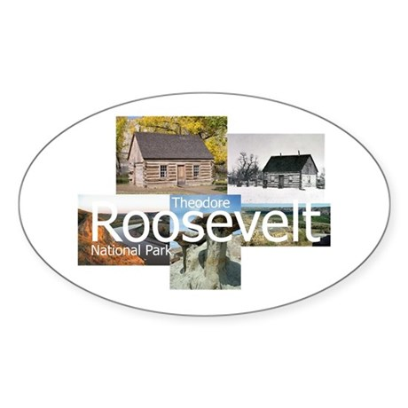 ABH Theodore Roosevelt NP Sticker (Oval)