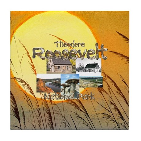 ABH Theodore Roosevelt NP Tile Coaster