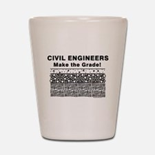 Civil Engineers Graded Shot Glass