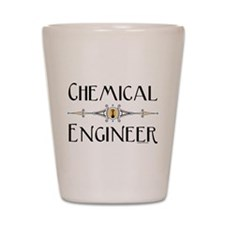 Chemical Engineer Line Shot Glass