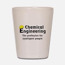 Smart Chemical Engineer Shot Glass