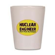 Nuclear Engineer Shot Glass