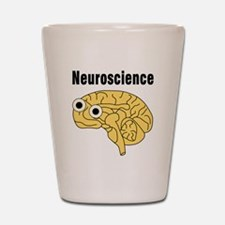 Neuroscience Brain Shot Glass