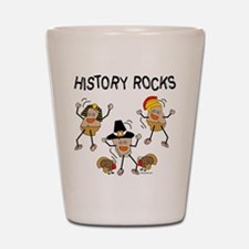 History Rocks Shot Glass
