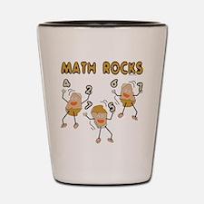Math Rocks Shot Glass