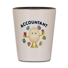 Accountant Shot Glass
